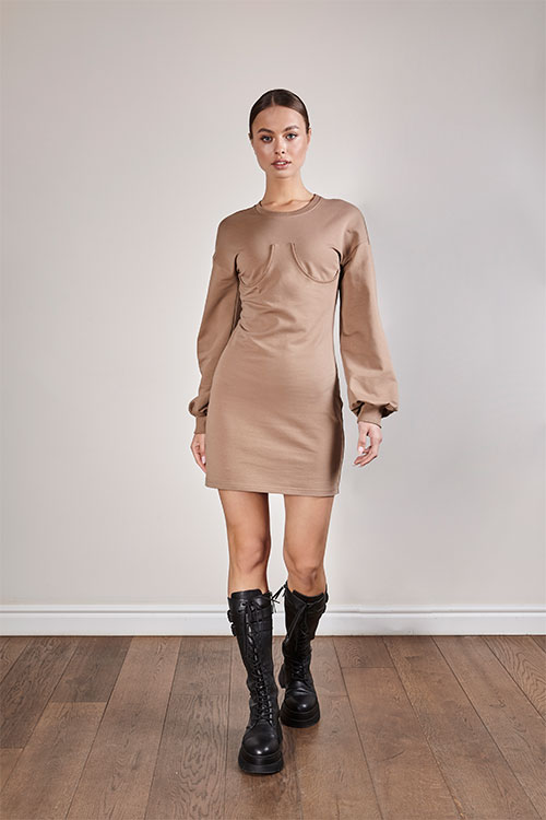 Mocco dress / Платье мокко