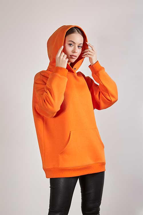 Orange Hoodie alonova
